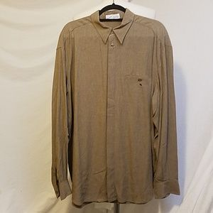 ZANELLA Long Sleeve Rayon Shirt, Large
